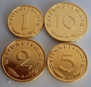 pfennig coins bagian belakang